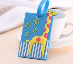 NT017-Colorful name tag for luggage/backpack
