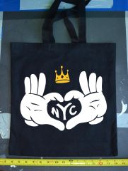Luv Nyc Tote Bag