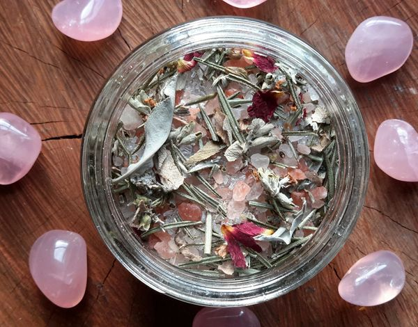 Spiritual Cleanse ~ Organic Botanical Bath Brew ~ Ceremonial Bath Soak for  Purification & Energy Renewal ~ Esoteric Alchemy