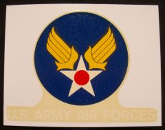 U.S. Army Air Forces Decal DEC-0101