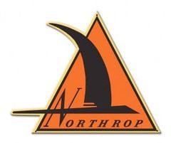 Northrop Logo Metal Sign SIG-0406