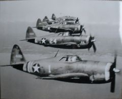 Republic P-47s In Formation Photo PHO-0107