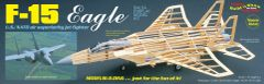 "Guillow's F-15 Eagle ""Build 'n Show"" Balsa Wood Model Airplane Kit GUI-1401"