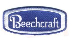 "Beechcraft Patch 5"" X 2 1/4"" PAT-0121"
