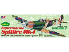 Guillow's Supermarine Spitfire Balsa Wood Model Airplane Kit GUI-504