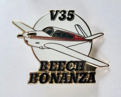 Beechcraft V35 Bonanza Lapel Pin JEW-0101