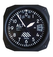 """10"""" Altimeter Style Wall Clock OFF-0108"""