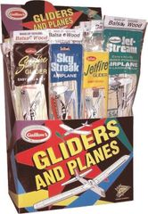 Guillow's Wholesale Combo Pack 4, 48 Plane Store Display GUI-77