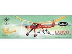 Guillow's Lancer Balsa Wood Flying Model Kit GUI-604