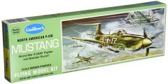 Guillow's North American P-51D Mustang Balsa Wood Model Airplane Kit GUI-905