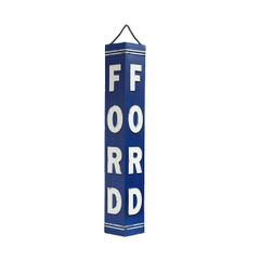 """24"""" Ford Angled Embossed Sign ORB-0601"""