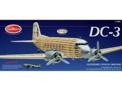 Guillow's Douglas DC-3 (C-47) Balsa Wood Model Airplane Kit GUI-804