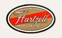 Hartzell Propeller Decal DEC-0109