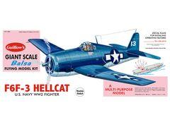 Guillow's Grumman F6F-3 Hellcat Balsa Wood Model Airplane Kit GUI-1005