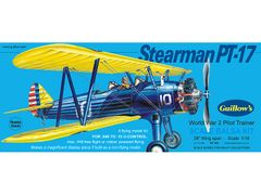 Guillow's Boeing Stearman Balsa Wood Model Airplane Kit GUI-803