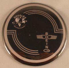 Wholesale lot of 24 Douglas Built B-17 Flying Fortress Control Yoke Hub Pin Back Buttons BTN-0116-24