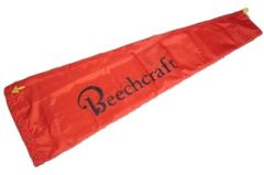 "Beechcraft Wind Sock, Polyester, 13"" X 60"" FWS-0101"