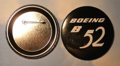 Boeing B-52 Stratofortress Control Yoke Hub Pin Back Button BTN-0111