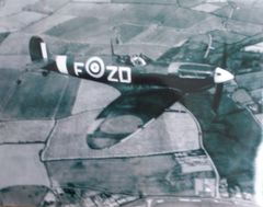 Supermarine Spitfire In Flight Photo PHO-0110