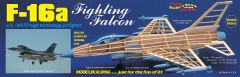 Guillow's General Dynamics F-16 Fighting Falcon Balsa Wood Model Airplane GUI-1403