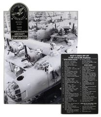 Consolidated B-24 Liberator Grouping, 3 Items GRP-0121