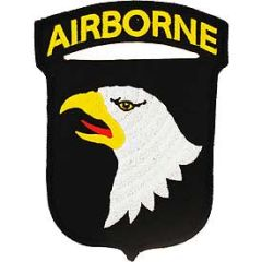 "101st Airborne Division Embroidered Patch, 5 1/4"" PAT-0111"