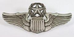 """USAF 3"""" Master Pilot Wings WIN-0107"""