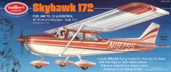Guillow's Cessna 172 Balsa Wood Model Airplane Kit GUI-802