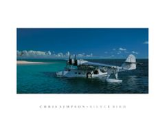"Chris Simpson Print, PBY Catalina ""Silverbird"""