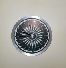 Jet Engine Wall Clock PI-0119