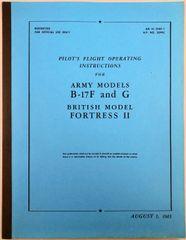 Boeing B-17F & G Pilot's Manual LIT-0101