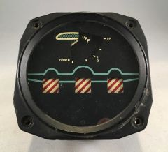 North American Aviation B-25 Mitchell Gears and Flaps Indicator INS-0112