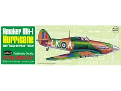 Guillow's Hawker Mk 1 Hurricane Balsa Wood Flying Model Kit GUI-506