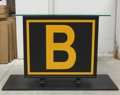 Taxiway Marker End Table LGS-0601