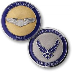 U.S. Air Force Pilot Challenge Coin NTM-78167