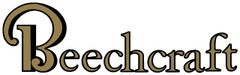 "Beechcraft decal, 13 1/2"" X 4"" DEC-0136"