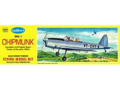 Guillow's DeHaviland DHC-1 Chipmunk Flying Balsa Wood Model Kit GUI-903