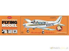 Guillow's Beechcraft Musketeer Flying Model Balsa Wood Kit GUI-308