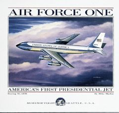 "Mike Machat Poster ""Air Force One"""