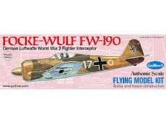 Guillow's Folke-Wulf Fw 190 Flying Balsa Wood Model Airplane Kit GUI-502