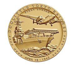 "Doolittle Tokyo Raiders Bronze Medal, 1.5"" USM-0101"
