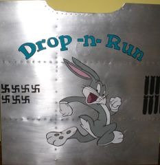 "Nose Art Panel- Bugs ""Drop and Run"" NAP-0107"