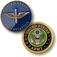 U.S. Army Aviation Challenge Coin NTM-60303