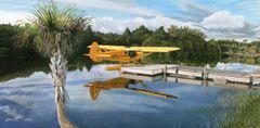 Sam Lyons Print, Cub at Quail Creek LS0187