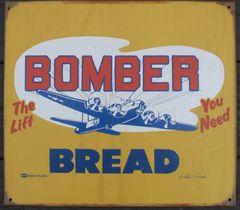 """Bomber Bread"" Metal Sign SIG-0101"