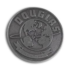 "Douglas ""First Around the World"" Lapel Pin BOE-0106"