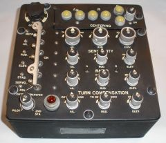 C-1 Auto Pilot Control Panel by Minneapolis Honeywell INS-0131
