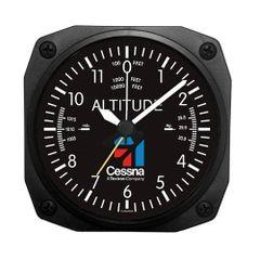Cessna Altimeter Desk Alarm Clock ORB-0116