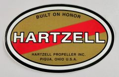 Hartzell Propeller Peel & Stick Decal DEC-0109S