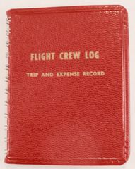 Flight Crew Log/Trip & Expense Record, 1964 LIT-0107